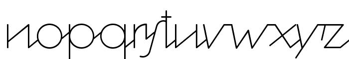 Cocosignum Corsivo Italico ULt Font LOWERCASE