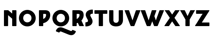 Cocotte Alternate Heavy Font UPPERCASE