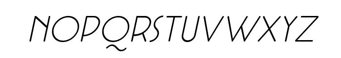 Cocotte Alternate UltLt Ita Font LOWERCASE