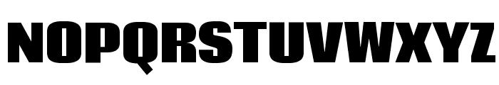 Coda Heavy Font UPPERCASE