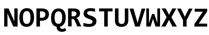 Code New Roman Bold Font UPPERCASE