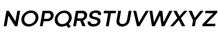 Codec Cold Bold Italic Font UPPERCASE