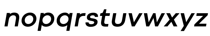 Codec Cold Bold Italic Font LOWERCASE