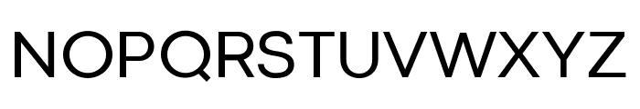 Codec Cold Trial Regular Font UPPERCASE
