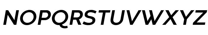 Codec Warm Trial Bold Italic Font UPPERCASE