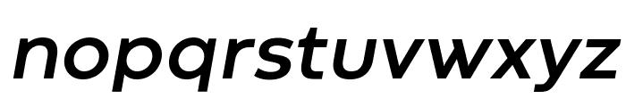Codec Warm Trial Bold Italic Font LOWERCASE
