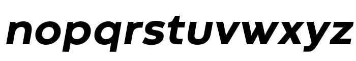 Codec Warm Trial ExtraBold Italic Font LOWERCASE