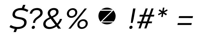 Codec Warm Trial News Italic Font OTHER CHARS