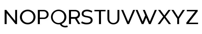 Codec Warm Trial Regular Font UPPERCASE