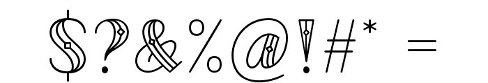 CodianOctoberNine Font OTHER CHARS