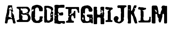 Codociosa Font LOWERCASE