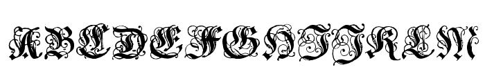 CoelnischeCurrentFraktur Font UPPERCASE