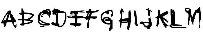 Coercion Naked Font UPPERCASE