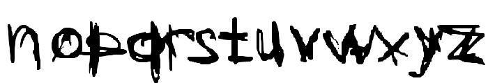 Coercion Naked Font LOWERCASE