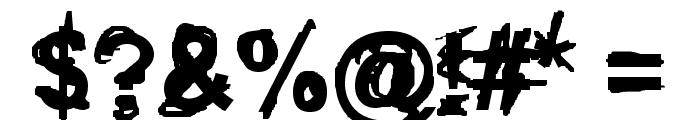 Coercion Regular Font OTHER CHARS