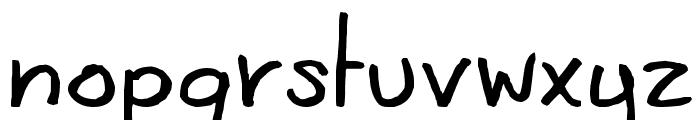 CoertSchriftRomaans Font LOWERCASE