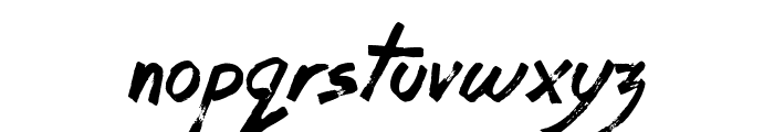 Coffee House Font LOWERCASE