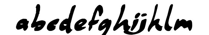 Coffee Mocha Font LOWERCASE
