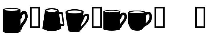 Coffee  Mugs Font OTHER CHARS