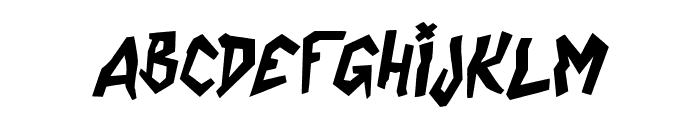 CoffeeEnema-Italic Font LOWERCASE