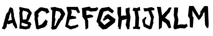 CoffeeEnema Font UPPERCASE