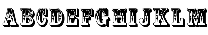 CoffeeTin Initials Font UPPERCASE