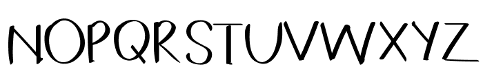 Coffeebreak Font UPPERCASE