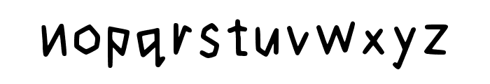 Cogtal Regular Font LOWERCASE