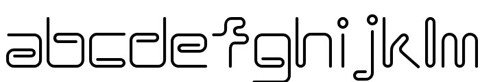 Coil ALr Font LOWERCASE