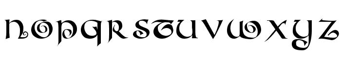 CoiledUncial Font UPPERCASE