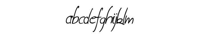Coire demo Italic Font LOWERCASE