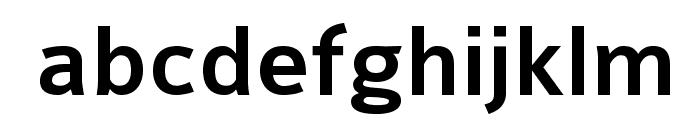 Colaborate-Medium Font LOWERCASE