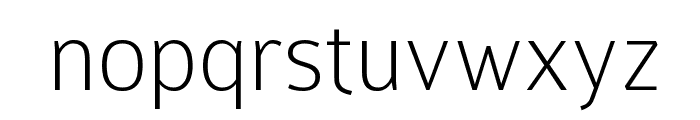 Colaborate-Thin Font LOWERCASE