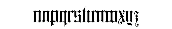 Colchester Black Font LOWERCASE