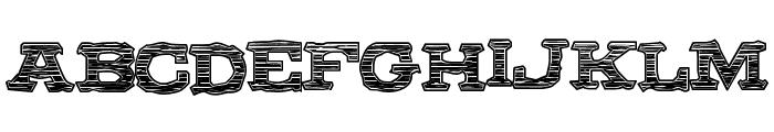 ColdBrew Font UPPERCASE
