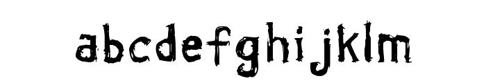 Coldbringer KG Font LOWERCASE