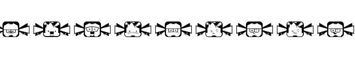 Coletivo Negobom Font LOWERCASE