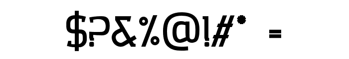 Collazio Personal Use Heavy Font OTHER CHARS