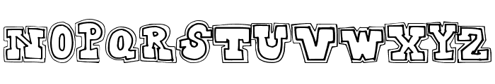 CollegeDropout Font LOWERCASE