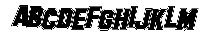 Collegerion Font UPPERCASE