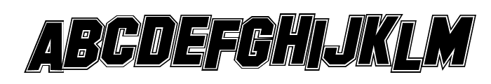 Collegerion Font LOWERCASE