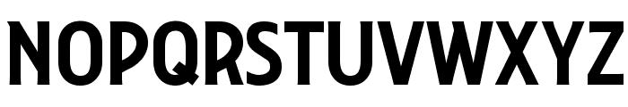 Collegiate Font UPPERCASE