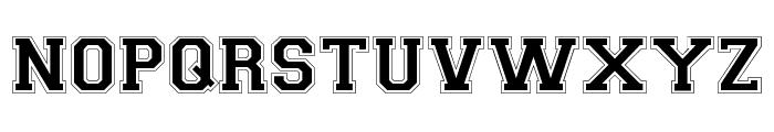 CollegiateFLF Font UPPERCASE