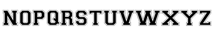 CollegiateFLF Font LOWERCASE