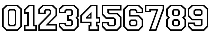 CollegiateOutlineFLF Font OTHER CHARS