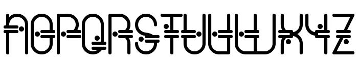 ColonialViper Font UPPERCASE