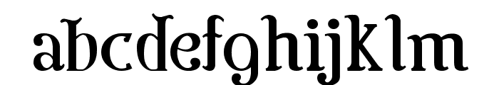 Colonial Font LOWERCASE