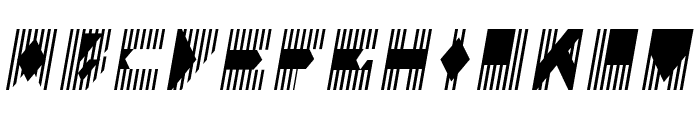 Colonialistas Italic Font UPPERCASE