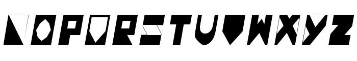 Colonialistas Italic Font LOWERCASE