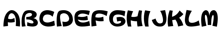 ColopocleAL Font UPPERCASE